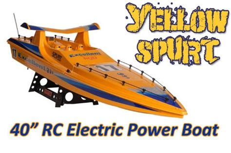 radio controlled speed boats uk new spurt radio controlled speed boat 40 quot super fast ebay