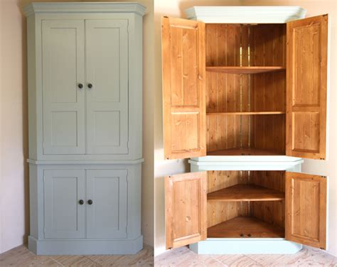 freestanding tall kitchen cabinets handmade solid wood larder unit freestanding kitchen