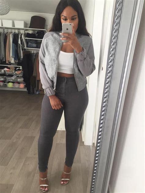 sherlinanym fashion casual outfits grey fashion