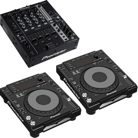 pioneer decks and mixer pioneer djm 750 4 channel mixer kit with two cdj 850