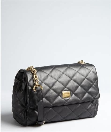 Dolce And Gabbana Quilted Leather Purse by Dolce Gabbana Black Quilted Leather Chain Shoulder Bag