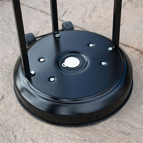 Patio Heater Wheels New 48 000 Btu Outdoor Patio Heater Propane Standing Lp Gas Csa Steel W Wheel Ebay