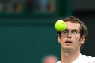Close up pictures of tennis players just look like people trying