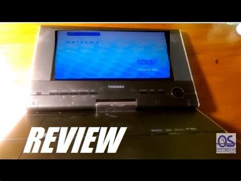 review toshiba 9 quot portable dvd player sd p91s