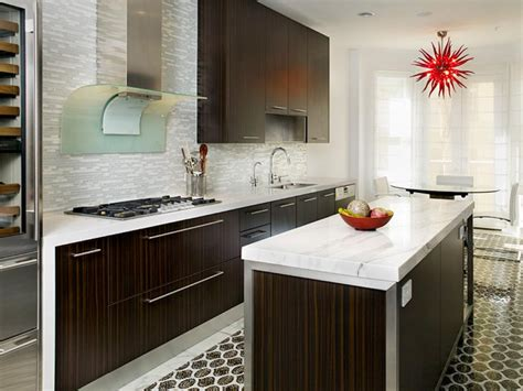 contemporary kitchen backsplash designer kitchens for less hgtv