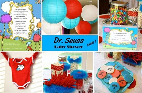 Dr Seuss Baby Shower Theme by Dr Seuss Baby Shower Ideas Baby Shower Decoration Ideas