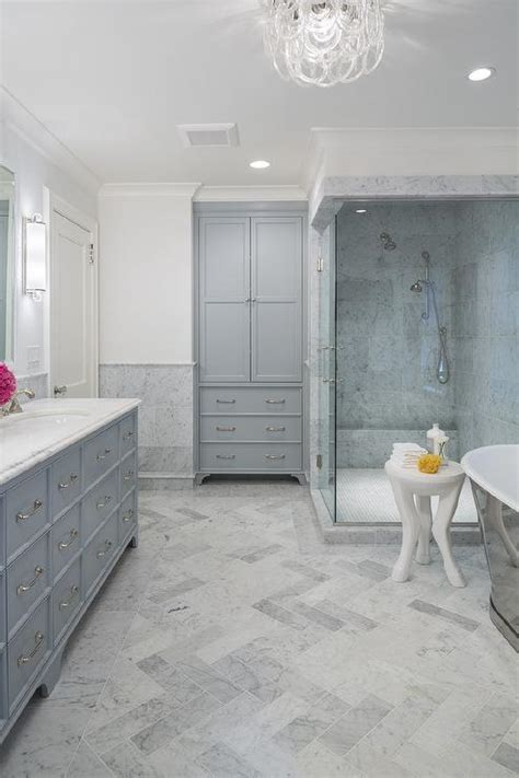 Honed Marble Bathroom by Glass Walk In Shower Ideas Transitional Bathroom Cr
