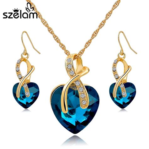 aliexpress com buy gift gold plated jewelry sets for