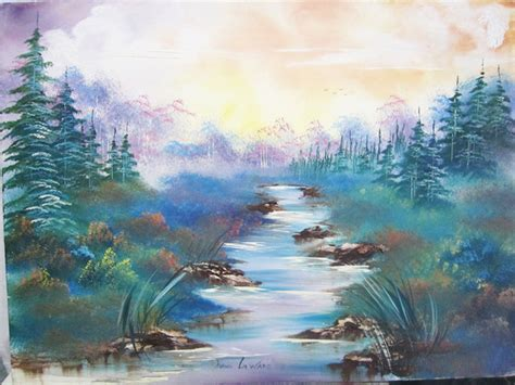 bob ross paintings for beginners professional portraits painting originals dogs