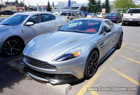 Aston Martin Canada by Aston Martin Vanquish Spotted In Calgary Canada On 06 16