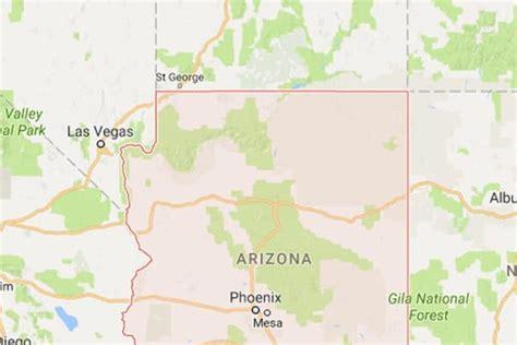map of northern arizona maps northern arizona