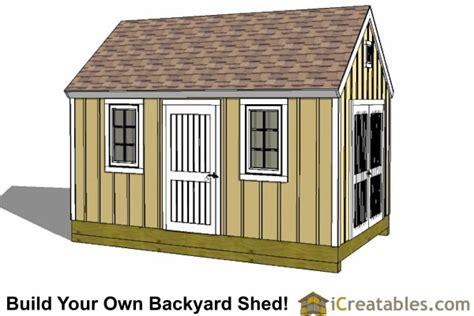 10x16 shed plans diy shed designs backyard lean to