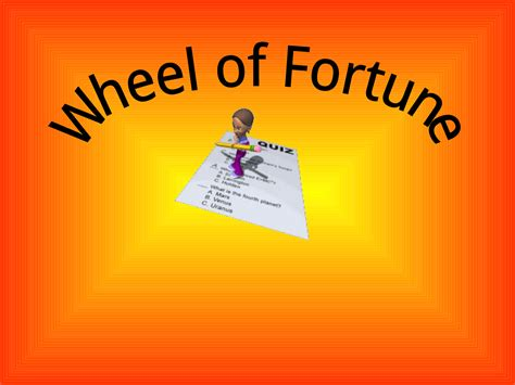 download wheel of fortune game template for free tidyform