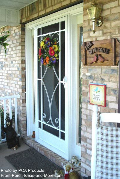 aluminum patio screen doors use your aluminum screen door to maximize curb appeal
