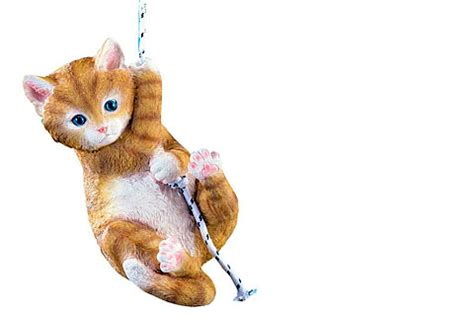 swinging cats 21 cat garden ornaments to catify your summer garden and