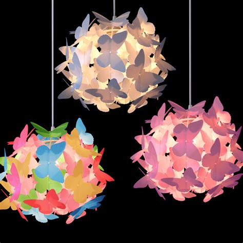 l shades for girls bedroom girls butterfly ceiling pendant light l shade