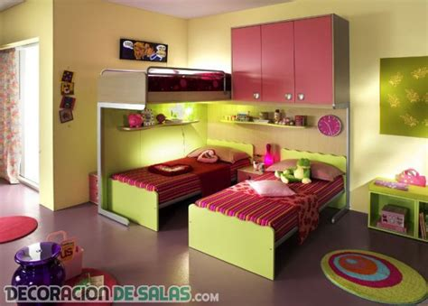 Bedroom Design For Students Dormitorios Con Tres Camas