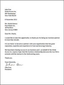 business correspondence template business letter format sles of business