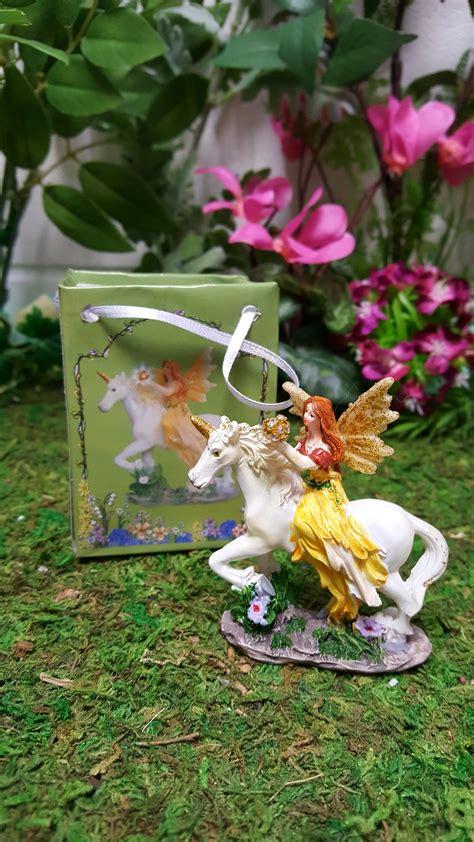 flower fairy  unicorn   bag fairy gardens uk