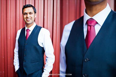 New Vest Deluna Maroon Matt rachna and roshan indian wedding at san francisco design