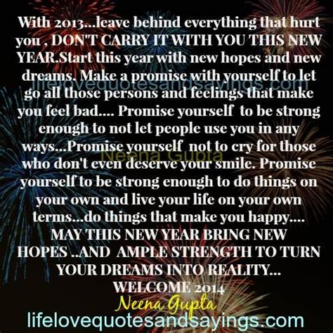 bringing in the new year quotes quotesgram