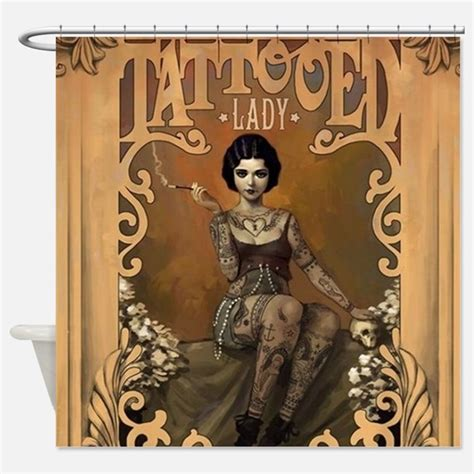 tattoo shower curtain uk tattoo shower curtains tattoo fabric shower curtain liner