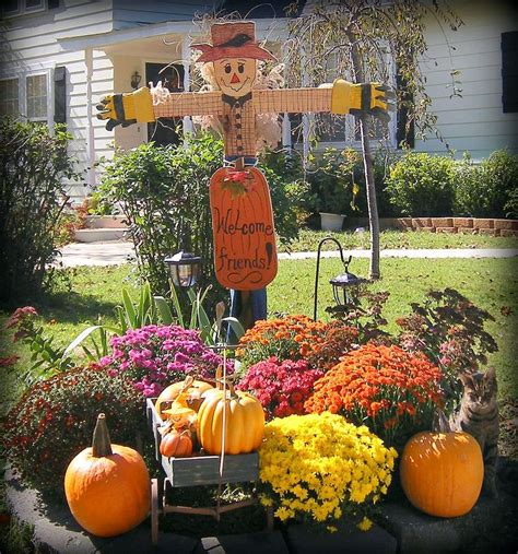 outdoor fall decorating ideas pinterest  wall decal