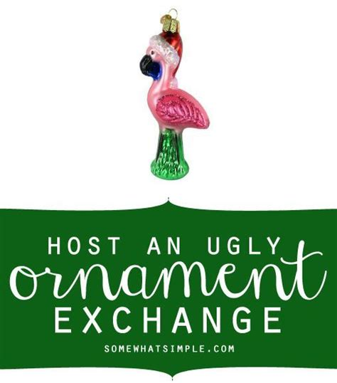 ugly ornament exchange the o jays ornaments and love the