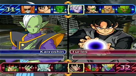 mod game dragon ball z budokai tenkaichi 3 zamasu vs black goku db super mods dragon ball z