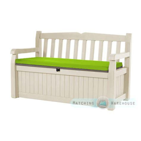 bench seat pad cushions waterproof bench cushion for keter iceni eden garden