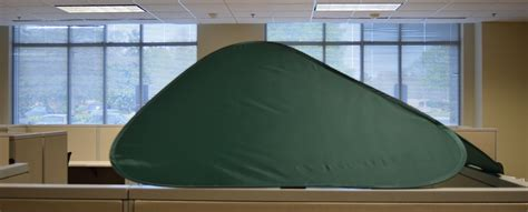 cubicle cover to block light cubeshield less light more privacy work better