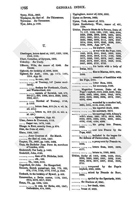 mla letter format index u history 1767