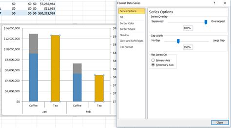 add themes to excel 2013 add second axis excel 2013 add secondary value axis to