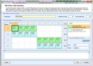 4 on 4 shift pattern template 12 hour shift work schedules exles