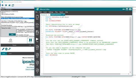imacros browser tutorial imacros enterprise edition v12 0 501 6698 a2z p30 download
