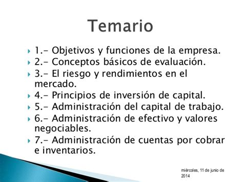 conceptos de administracion estrategica by manuel ricardo unidad 1 finanzas 1 rmg introducci 243 n a las finanzas