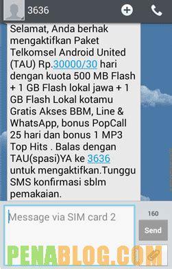 cara mengecek sisa kuota paketan 30 gb telkomsel cara daftar paket telkomsel android united tau 4 5gb 30ribu