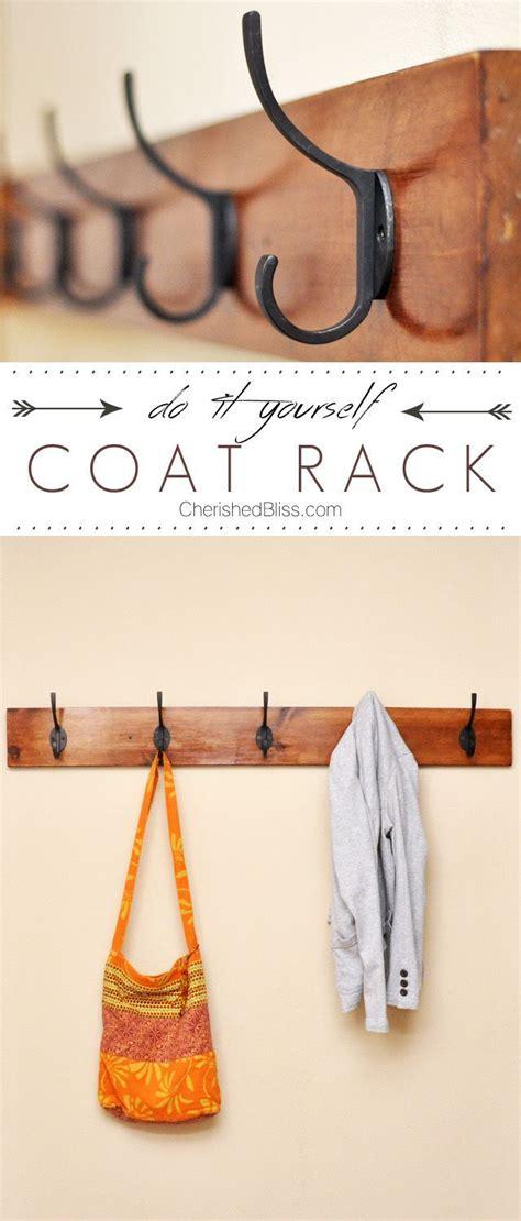 diy coat rack tutorial diy coat rack diy coat hooks