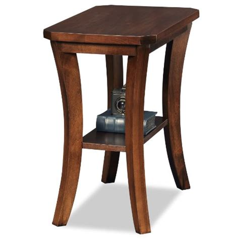 wood chair side table leick furniture 10305 leick furniture boa collection solid