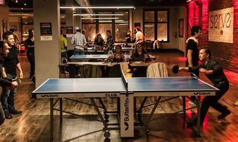 ping pong table rental chicago ping pong food drink or table serve ping pong bar and