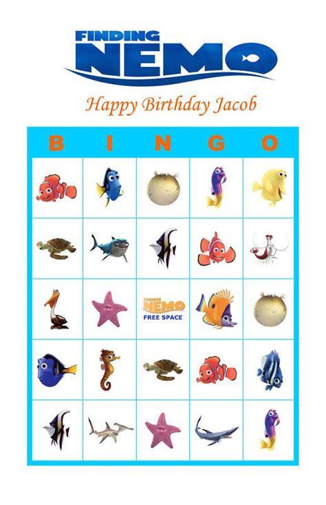 printable birthday bingo cards 18 best ocean unit images on pinterest