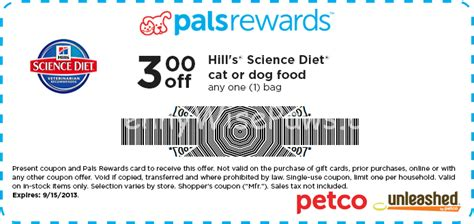 science diet food coupons 3 new science diet coupons at petco pennywisepaws