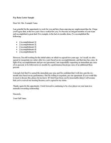 request for raise letter template sle letter asking for a salary increase sle