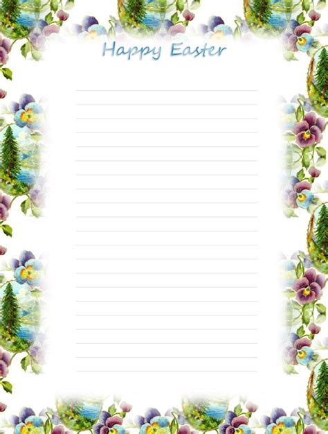 printable easter stationery download the free printable official easter bunny