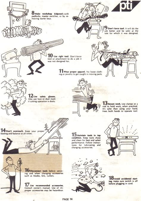 safety for woodwork at school posters for your shop wall woodworking talk