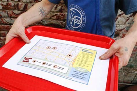 st vincent de paul dining room california police distribute map to san rafael s homeless