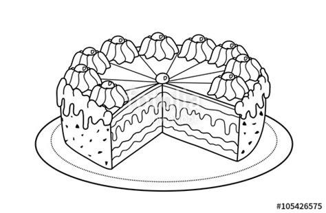 kuchen malvorlage kuchen weiss ihr traumhaus ideen