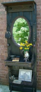 Old Door Ideas Pinterest Reuse Your Old Doors Cool Decorations And Diy Furniture