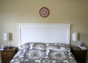 Do It Yourself Headboard Ideas by White Rustic Headboard Diy Projects