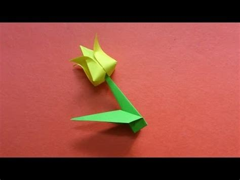 Origami Flower 100th - how to make an origami flower vidoemo emotional